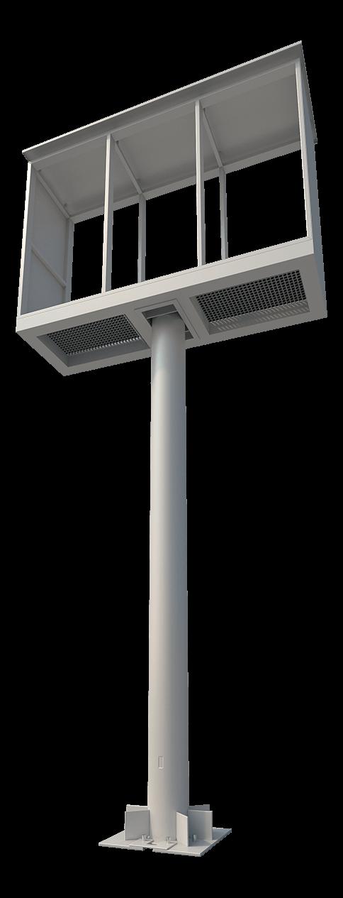 Konštrukcia pre LED billboard