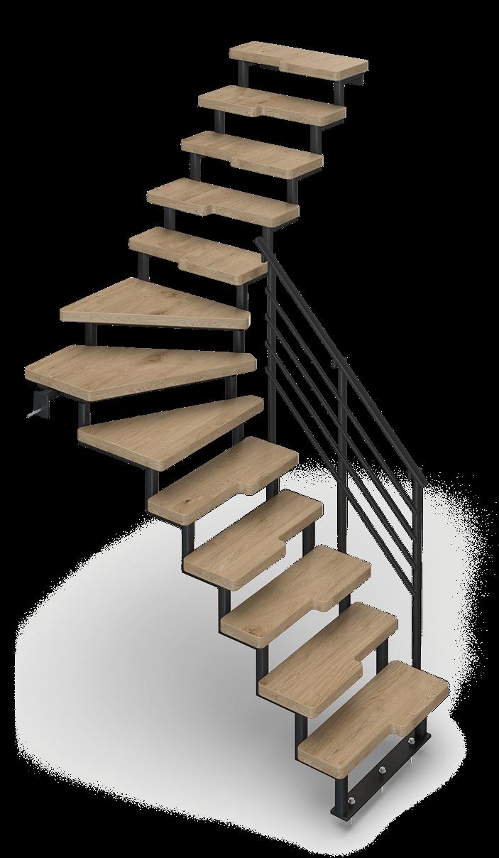 Interiérové schodisko do domácnosti